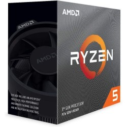 AMD Ryzen 5 3600 6-Core 3.6GHz (4.2GHz Max Boost) CPU Unlocked Desktop Processor with Wraith Stealth Cooler