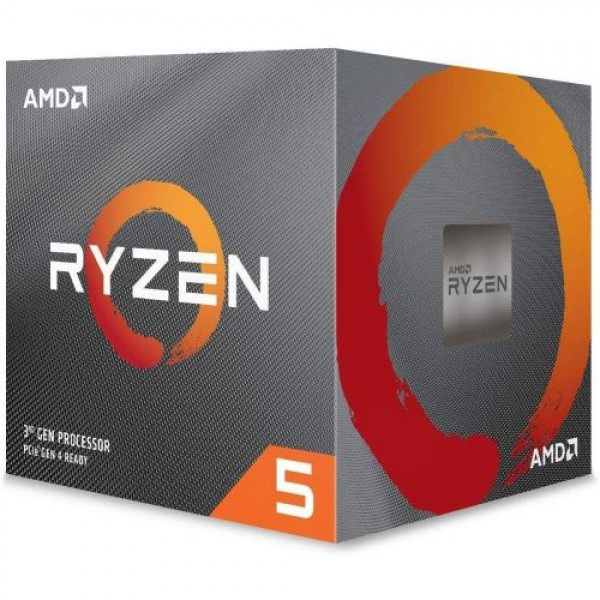 CPU AMD Ryzen 5 1600 6-Core 3.2GHz (3.6GHz Max Boost) Unlocked 65W CPU Desktop Unlocked Processor with Wraith Stealth Cooler