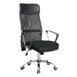 Computer Office Mesh Chair Medium Large Black