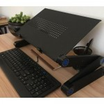 Multifunctional Laptop Stand Aluminum Desk with mousepad for Laptop