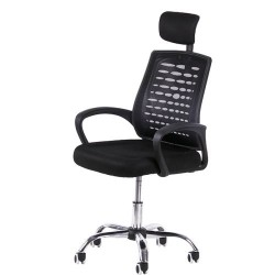 Computer Office Mesh Chair BY-950-1 High Black