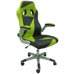 Gaming Chair FORM Black & Green