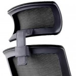Executive Modern Mesh Chair Large Black