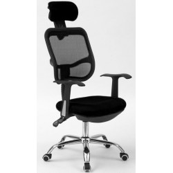Computer Office Mesh Chair BY-067s Black
