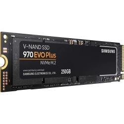 Samsung 250GB SSD M.2 NVMe 970 EVO Plus V-NAND Technology Gaming MZ-V7S250B