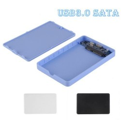 USB 3.0 HDD Box External Enclosure Case for 2.5 inch SATA Hard Drive Q7-30 Blue