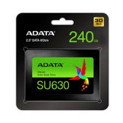 "A-DATA SSD 240GB Ultimate SU630 SATA III 6GB/s 2.5"" 7mm 3D QLC Black Retail ADATA"