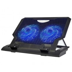 "Laptop Cooler Notepal ErgoStand LX-339A 12""-17.4"" 2x Fans Led Super Silent"