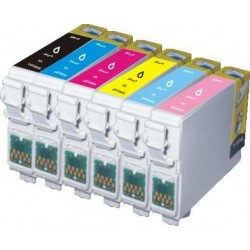 Ink Jet Cartridge T0801-T0802-T0803-T0804-T0805-T0806