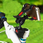 Mobile Universal Phone Holder Mount 360° Rotate for Bike Bicycle Scooter Trotinet Clip