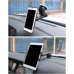 Tablet & Mobile Universal Car Holder Windscreen Dashboard Mount 360° Rotate Extendable