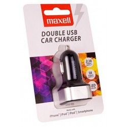 Maxell Phone Double 2x USB Car Charger 3.1A (2.1A+1A)